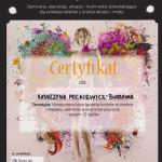 Certyfikat Analiza Kolorystyczna 001