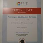 Certyfikat FRIS